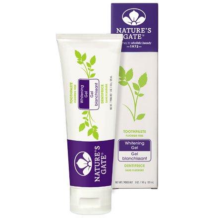 Nature's Gate Natural Toothpaste, Whitening Gel 5 oz (141 - Gate Whitening Natures Gel