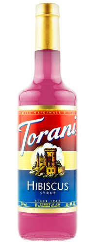 Torani Syrup, Hibiscus, 25.4-Ounce PET Bottle