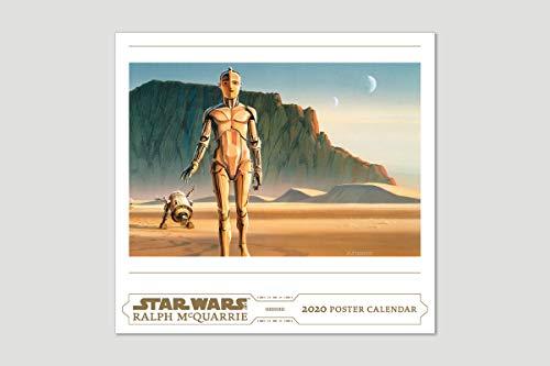 Star Wars Art: Ralph McQuarrie 2020 Poster Calendar