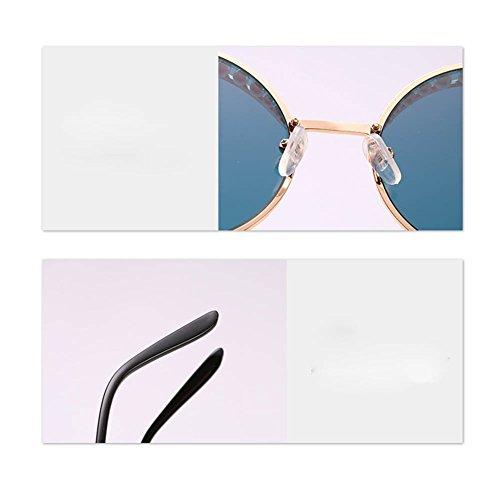 Soleil De Lunettes Silver WhiteMercury De Rondes Sourcils Personnalité Les Perle De De Lunettes De De De Mode Mode FTcqYWFIX