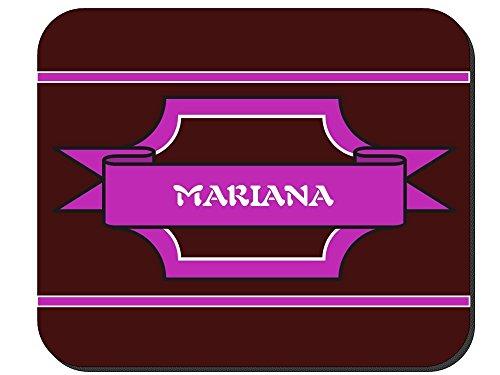 Mariana - Girl Name Mouse Pad