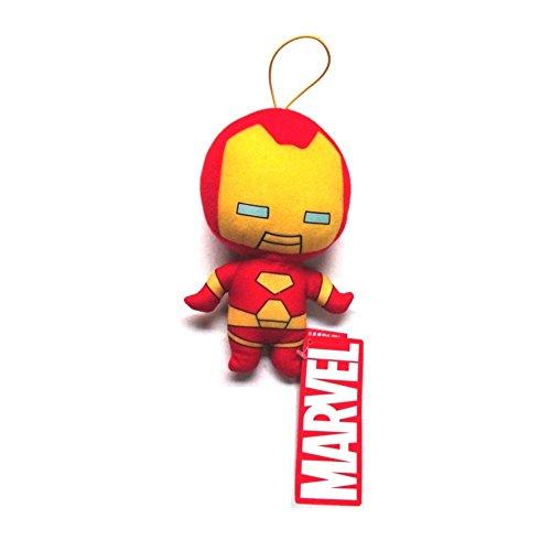 Marvel Kawaii Art Collection Iron Man Hanging Plush Toy
