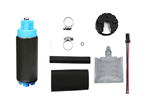 255 LPH High Flow Electric Intank Fuel Pump With Installation Kit GSS342