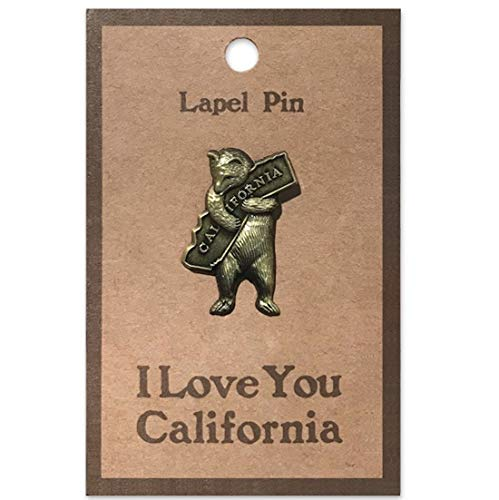 California Bear Hug Lapel Pin (Cal Bears Backpack)