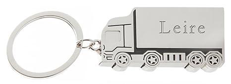 Shopzeus Llavero de Metal de camión con Nombre Grabado ...