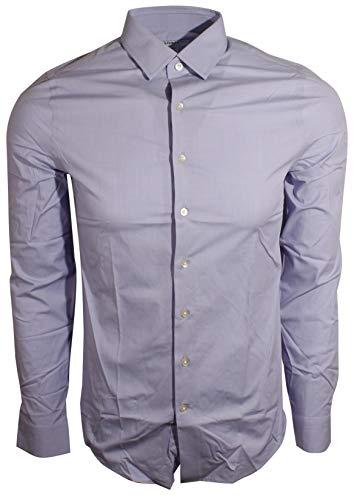 Express Men's 1MX Modern Fit Dress Shirt (S, Light Purple) -