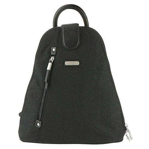 Baggallini Metro Backpack with Rfid Wristlet, Black by Baggallini