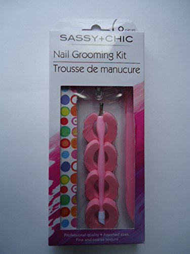 Sassy + Chic 8-Piece Nail Grooming Kit