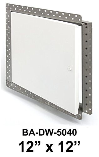 Panel Side Access (DW-5040 Acudor 12 x 12 Flush Access Panel with Drywall Bead Flange)