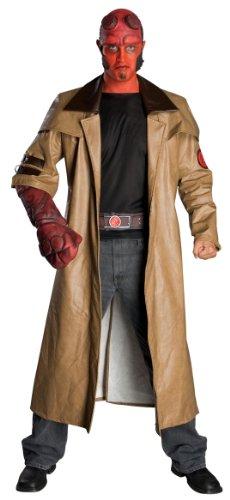 Hellboy Costume Hand (Hellboy Deluxe Costume, Brown/Black, Standard)