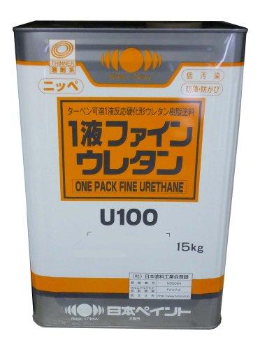 日本ペイント 1液ファインウレタンU100 ND-281 15kg B002QTZ1XY 15kg|ND-281