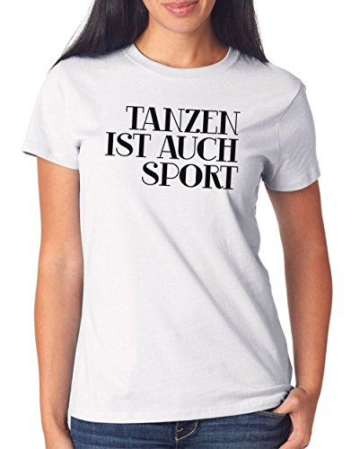 Tanzen ist auch Sport T-Shirt Girls White Certified Freak