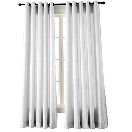 Extra Wide Faux Dupioni Silk Curtain Panel 100