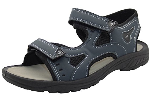 Trail Sandals Hiking NAVY Strap Mens Shoes NIGEL Touch Summer Fastener nHf1PX