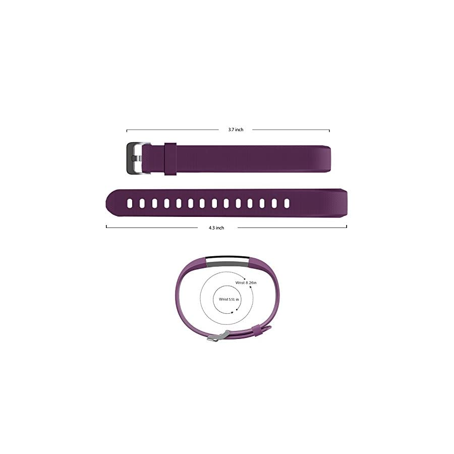 MoreFit Slim 2 Band, Adjustable Replacement Strap for MoreFit Slim 2 Smart Wristbands