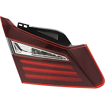tail light for honda accord 2016 inner assembly sedan left side automotive. Black Bedroom Furniture Sets. Home Design Ideas
