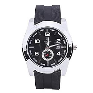ZA Men's Fashion Hot Sale Upscale Sport Quartz Watch Silicone Band Wrist Watch(Delivery color random)