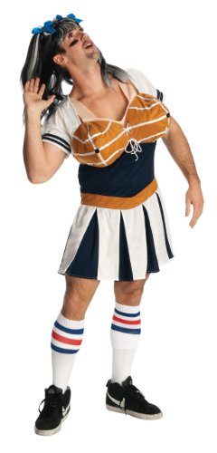 Double Takes Costumes (Rubie's Costume Double Take Glam Dunk Costume, Multi Color, One Size)