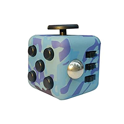 New Arrival Fidget Cube Anxiety Stress Relief Focus Toys Gift Camouflage Army.