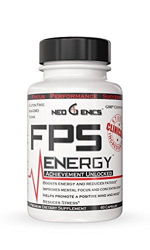 Natural Energy Pills - Focus, Memory, and Concentration - FPS Energy Supplement For Men and Women - Brain Booster Nootropic...