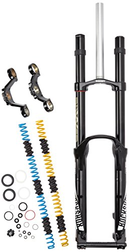 (RockShox Boxxer Team Coil 200 27.5-Inch Maxle DH Black Charger DH RC Aluminum Steerer, 1 1/8-Inch A1)