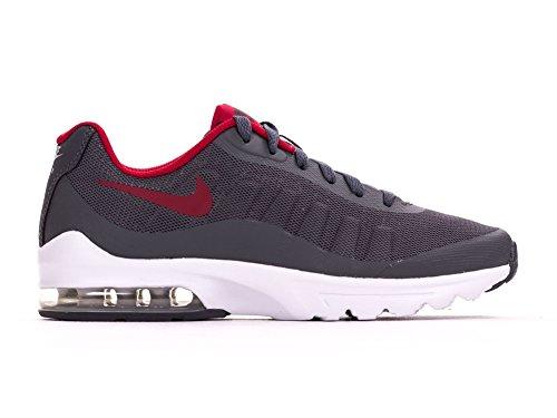 Nike 749572-009, Zapatillas de Deporte para Niños Gris oscuro (Dark Grey / Gym Red Wolf Grey White)