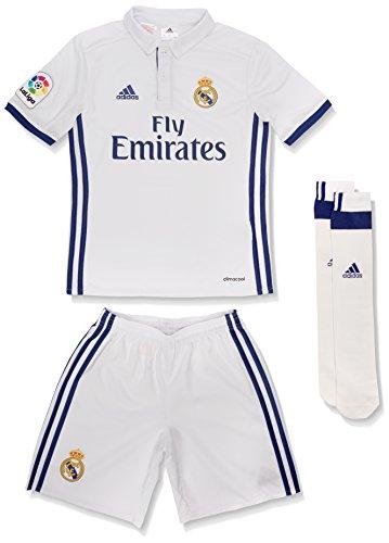 Adidas Real Madrid CF 2015 16 H SMU Mini - Mini Conjunto Jugador para niños d704e53b794b8