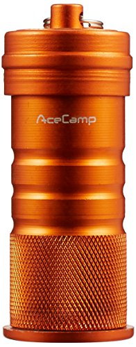AceCamp Waterproof Matchbox Canister, Airtight Match Container, Watertight Box Keeps Matches Dry for Camping, Survival, Outdoors, Backpacking, Hiking, Campfire, Emergency -