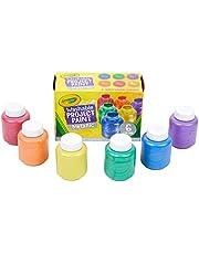 Crayola Washable Metallic Paint, Multi-Colour, Cy54-5000