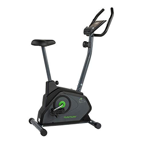 🥇 Tunturi Cardio Fit B30 Bicicleta estatica / bici estatica / bicicleta fija / con computadora de Entrenamiento y medidor de pulso