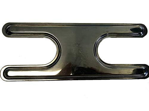 Stainless Steel Gas Grill Replacement Dual H Burner Only 18″ x 7.25″ New