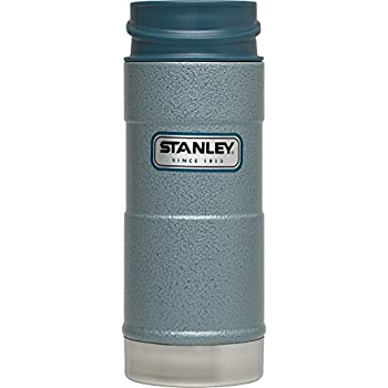 Stanley Classic One Hand Vacuum Mug, Hammer Tone Ice, 15-Ounce