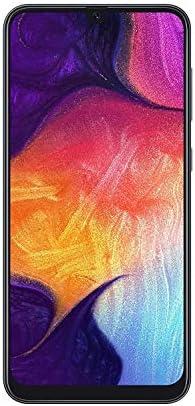 Samsung Galaxy A50 SM-A505G 128GB, Dual Sim, 6.4″ Infinity-U Display, Triple Camera, 4GB RAM, GSM Unlocked International Model, No Warranty (Black)