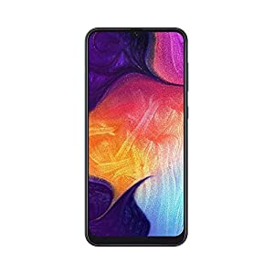 Samsung Galaxy A50 A505G 64GB Duos GSM Unlocked Phone w/Triple 25MP Camera – Black