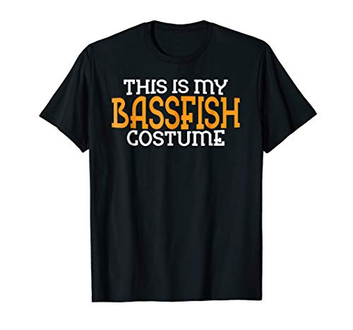 This Is My Bassfish Costume Gifts T Shirt Halloween Tee for $<!--$15.99-->