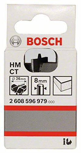 Bosch Professional Zubeh/ör 2 608 596 980 Scharnierlochbohrer HM 30 x 56 mm d 8 mm