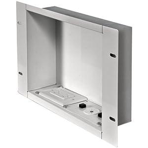 Amazon Com Peerless Iba2ac W In Wall Metal Box Large With
