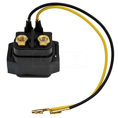 BEESCLOVER for VX110 VX1100 Sport 2005 2006 VX1100A Deluxe 05-06 Motorcycle 12V Starter Solenoid Lgnition Key Switch Starting Relay Show One - Relay Starting