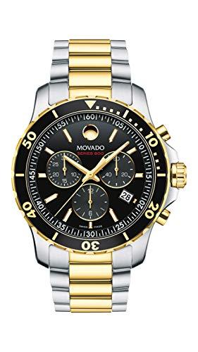 Movado Men's Series 800 2-Tone Chronograph Watch