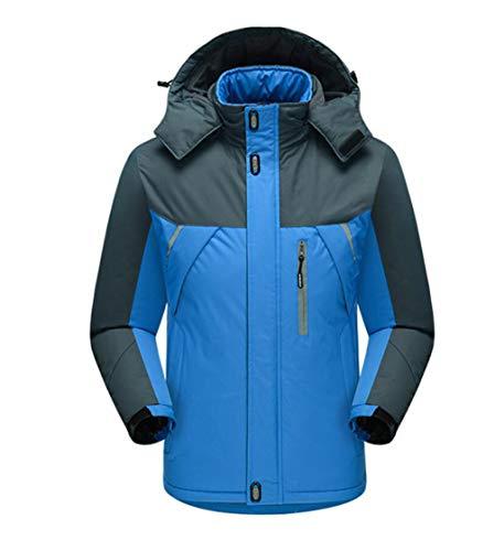 Da Pile Vestiti Blu Caldo Esterna Escursioni Inverno Giacca Uomo q0ZBRFH