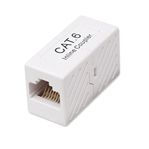 Steren Cat6 In Line Coupler - White - Steren Cat