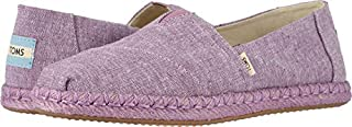 TOMS Women's Alpargata on Rope Rose Violet Slub Chambray On Rope 8.5 B US (B0798VT6J4) | Amazon price tracker / tracking, Amazon price history charts, Amazon price watches, Amazon price drop alerts