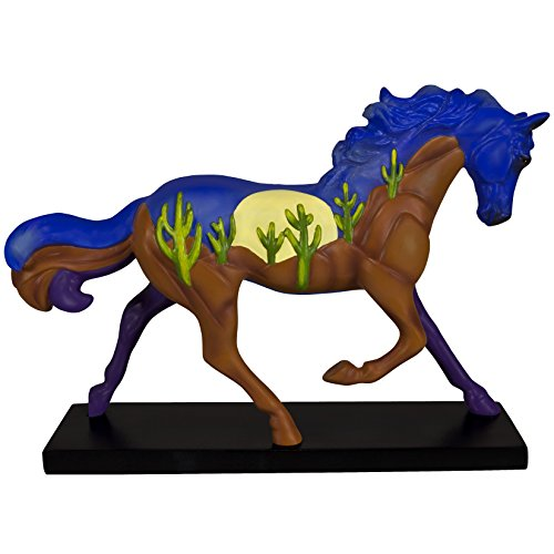 Enesco Trail of Painted Ponies Sundown to Moonrise Stone Resin Horse Figurine, 6.5