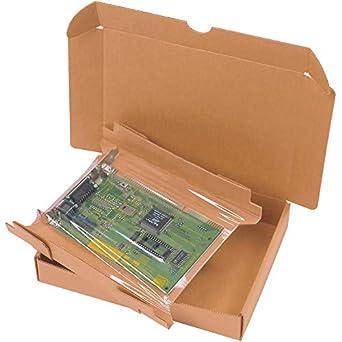 """Cajas rápido bfkor107 korrvu retención caja envío de cartón, 11 """"x 8"""""""