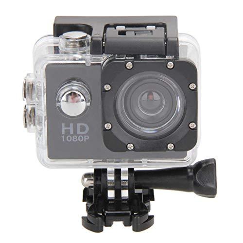 gazechimp Waterproof 1080P HD DV DVR Sports Camera for Rock Climbing, Diving, Black (Transport Hd Dv)