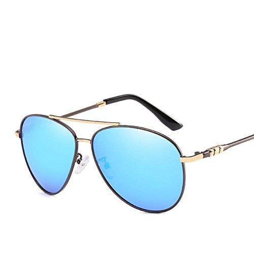 Aoligei Mode miroir conducteur de marée Polarized lunettes anti-uv400 hommes Outdoor D