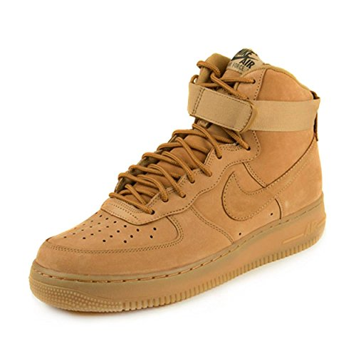 Nike Mens Air Force 1 High '07 LV8 Wheat Flax/Outdoor Green Leather