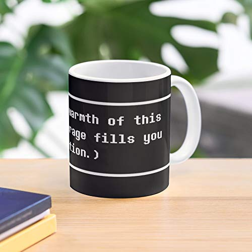 Quote Cup Hot Chocolate Undertale Warm Toby Fox Pc Game Standard Handmade Top Selling 11 Oz White Novelty Gift Friend Mug