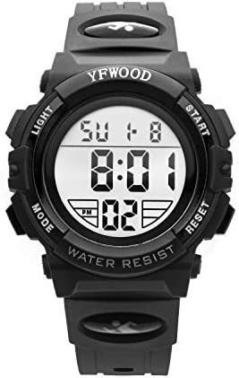 Waterproof Children Electronic Stopwatch Girls%EF%BC%88White%EF%BC%89 product image