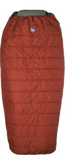 Big Agnes Buffalo Park 40-Degree Sleeping Bag(Quallofil), Long Left Zipper, Outdoor Stuffs